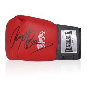 Nigel Benn Signed Boxing Glove In Display Case