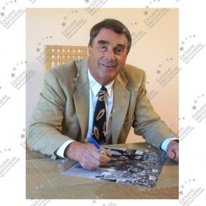 Nigel Mansell Signed Photograph: Wall Of Champions. In Deluxe Black Frame With Silver Inlay