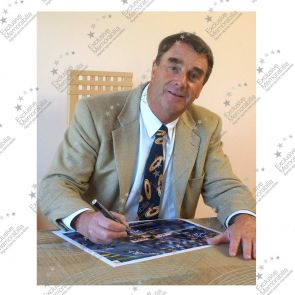 Nigel Mansell Signed And Framed Photograph: 1992 World Champion