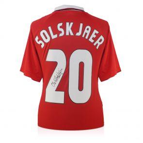 Ole Gunnar Solskjaer Signed Shirt