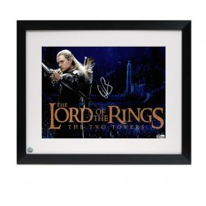 Orlando Bloom Signed The Lord Of The Rings Photo. Framed