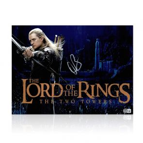 Orlando Bloom Signed The Lord Of The Rings Photo