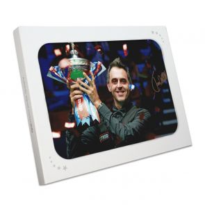 Ronnie O'Sullivan Signed Snooker Photo: Six-Time World Champion. In Gift Box