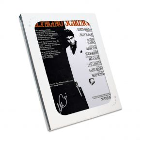 Al Pacino signed Scarface Poster In Gift Box