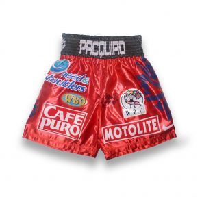 Signed Manny Pacquiao Trunks