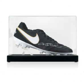 Paolo Maldini Signed Football Boot In Display Case