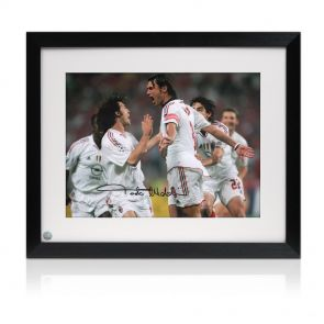 Framed Paolo Maldini Signed photo