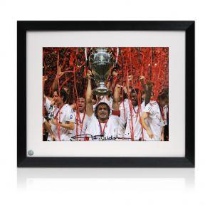 Framed Paolo Maldini Signed photo