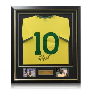 Deluxe framed Pele shirt