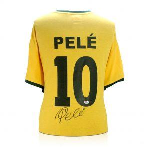 Signed Pele Shirt