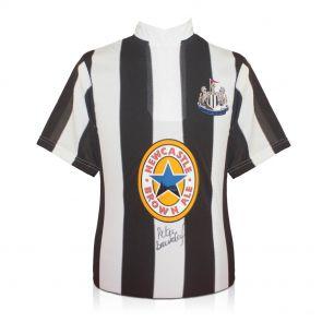 Signed Peter Beardsley Newcastle United Jersey