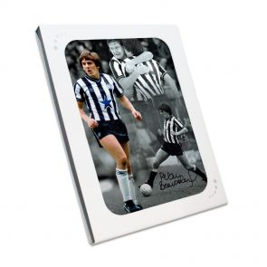 Peter Beardsley Signed Newcastle United Photo