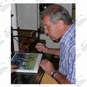 Peter Shilton Signed England Photo: The Hand Of God Framed