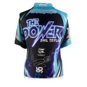 Signed Phil Power Darts Shirt