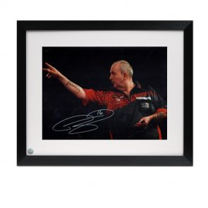 Framed Phil Taylor Photo