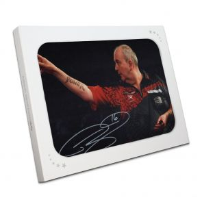 Phil Taylor Signed Photo In Gift Box