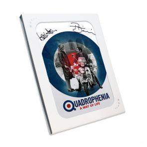 Quadrophenia Signed Poster