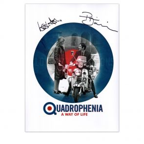 Quadrophenia A Way Of Life Poster Signed by Phil Daniels And Leslie Ash. In Gift Box