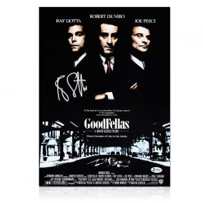 Ray Liotta Signed Goodfellas Poster