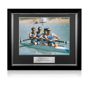 Sir Steve Redgrave Signed Framed Photo: The Winning Team