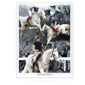 Signed Richard Dunwoody Grand National Photo: Desert Orchid