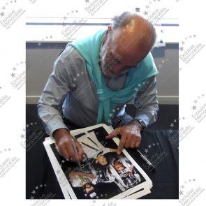 Framed Ricky Villa And Ossie Ardiles Double Signed Tottenham Hotspur Photograph
