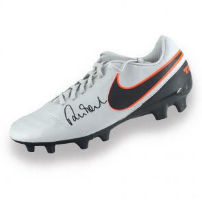 Robbie Fowler Signed Football Boot In Display Case
