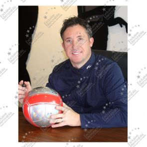 Robbie Fowler Signed Liverpool Football