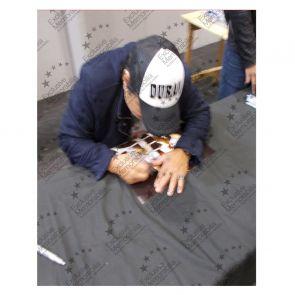 Roberto Duran Signed Boxing Photo