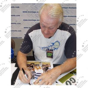 Rodney Marsh Signed QPR Photo Framed
