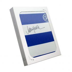 Rodney Marsh Signed Queens Park Rangers Football Shirt In Gift Box