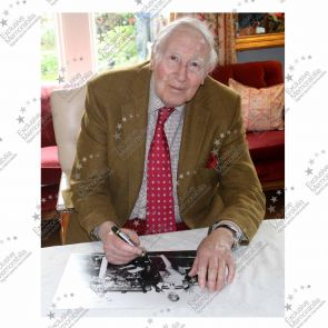 Roger Bannister Signed Photograph: With Historic Date Added By Sir Roger