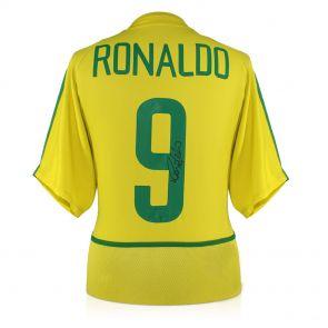 Ronaldo de Lima Signed Brazil Shirt