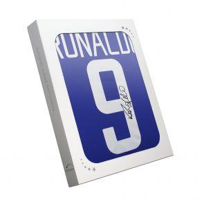 Ronaldo de Lima Signed 2002-04 Brazil Away Shirt In Gift Box