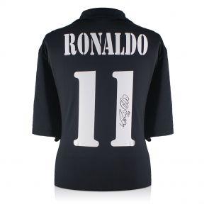Ronaldo de Lima Signed 2002-03 Real Madrid Centenary Away Shirt