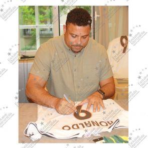 Ronaldo de Lima Signed 2003-04 Real Madrid Home Shirt