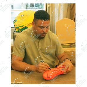 Ronaldo de Lima Signed Mercurial Football Boot