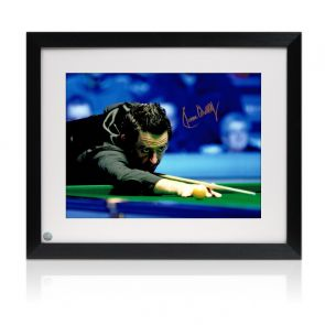 Ronnie O'Sullivan Signed Photo: 1000th Century. Framed