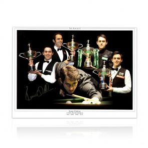 Signed Ronnie O'Sullivan Photo