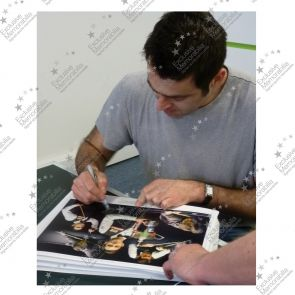 Ronnie O'Sullivan Signed Snooker Photograph: The Best There Ever Was