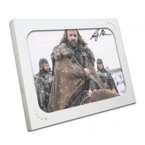 Sandor Clegane Signed Game Of Thrones Photo: The Hound In Gift Box