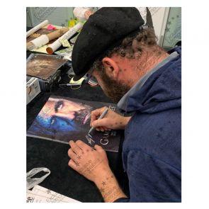 Sandor Clegane Signed Game Of Thrones Poster Framed