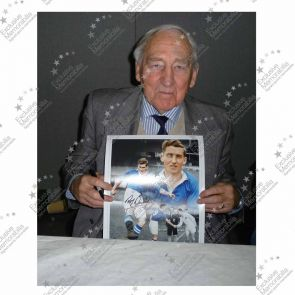 Roy Bentley Signed Chelsea Photo Framed
