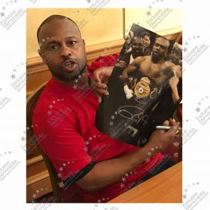 Roy Jones Jr Signed Boxing Photo: Heavyweight Champion. Framed