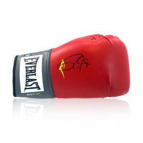 Signed Roy Jones Jr Boxing Glove