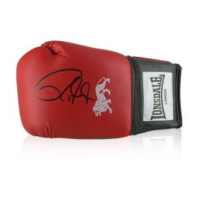 Roy Jones Junior Signed Boxing Glove