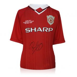 Ryan Giggs Signed Manchester United 1999 Champions League Shirt