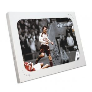 Ryan Giggs Signed Manchester United Mono Photo: FA Cup Semi Final Wonder Goal. Gift Box