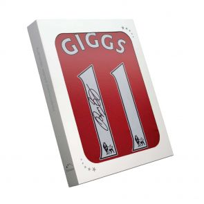 Ryan Giggs Signed 2013/14 Manchester United Shirt In Gift Box