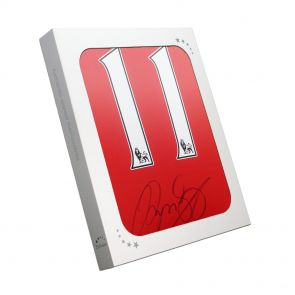 Ryan Giggs Signed Manchester United Shirt In Gift Box